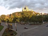 Вид на Успенский Собор. Панорама..
