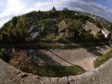Вид на собор с крепостной стены