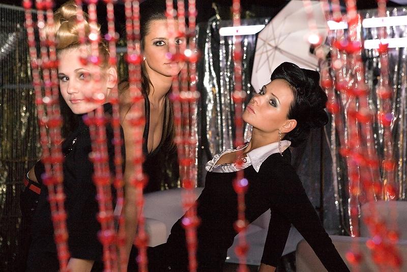 Прическа в ночной клуб своими руками 40